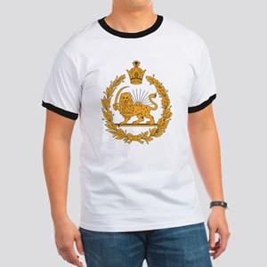 Persia Coat Of Arms Ringer T