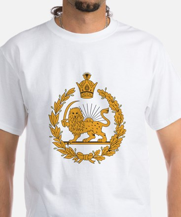 Persia Coat Of Arms White T-Shirt
