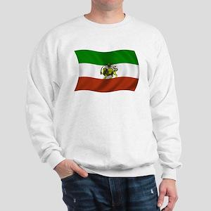 Wavy Pahlavi Dynasty Flag Sweatshirt