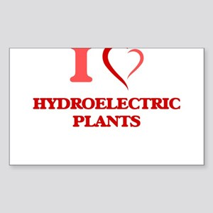 I love Hydroelectric Plants Sticker