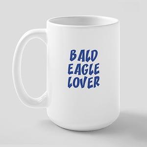 BALD EAGLE LOVER Large Mug