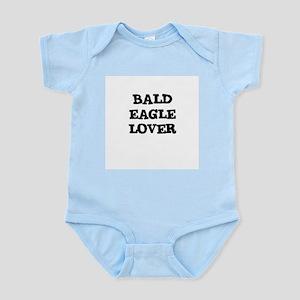 BALD EAGLE LOVER Infant Creeper