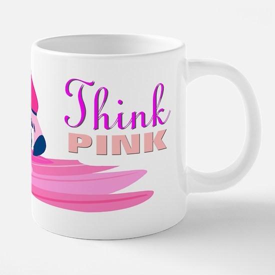 3x8_FLAMINGO_PINK.png 20 oz Ceramic Mega Mug