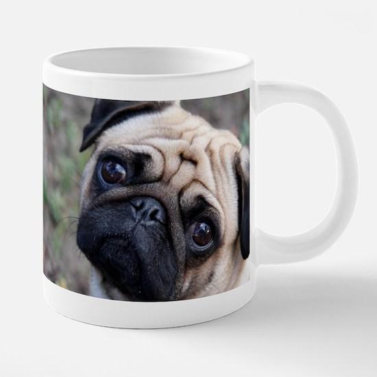 springpugmug.png 20 oz Ceramic Mega Mug
