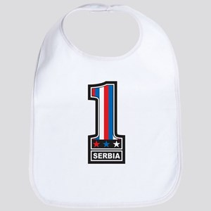 Number One Serbia Bib