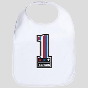 Number One Serbia Bib