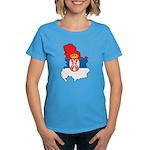 Map Of Serbia Women's Dark T-Shirt