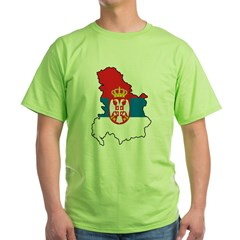 Map Of Serbia T-Shirt