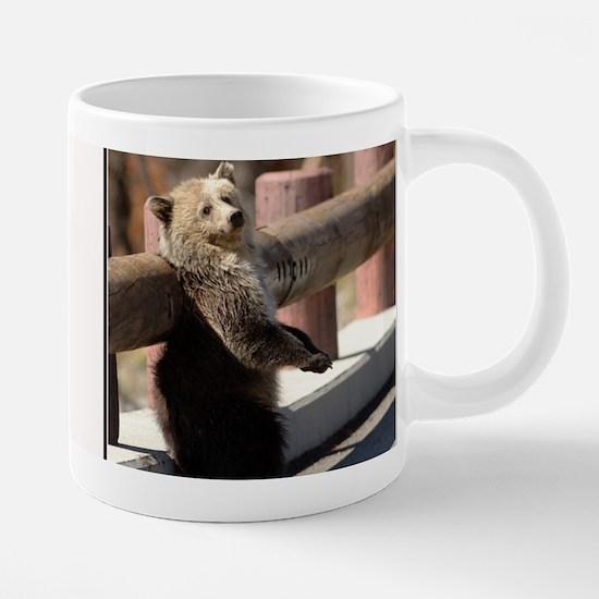 Back Rub Cub Mug II.png 20 oz Ceramic Mega Mug