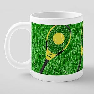 Racket4c 20 oz Ceramic Mega Mug