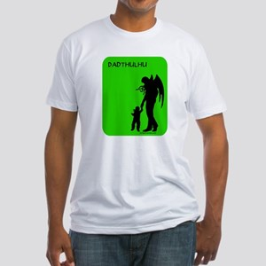 Dadthulhu, Cthulhu father Fitted T-Shirt