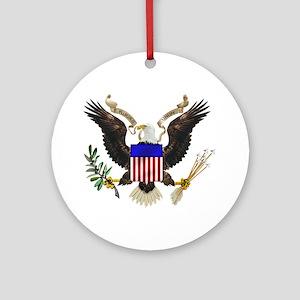 U.S. Seal Ornament (Round)