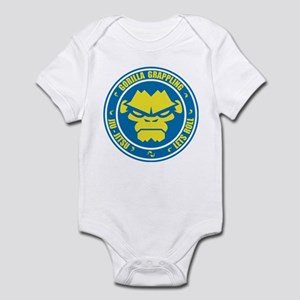 Lets Roll Blue Circle Infant Bodysuit