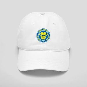 Lets Roll Blue Circle Cap