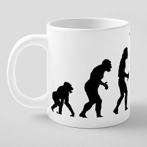 Australian Football 20 oz Ceramic Mega Mug