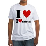 I Love I Heart Shirts Fitted T-Shirt