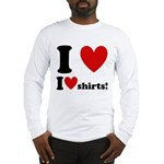I Love I Heart Shirts Long Sleeve T-Shirt
