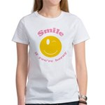 Smile If You're Horny Women's T-Shirt