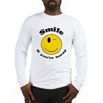 Smile If You're Horny Long Sleeve T-Shirt