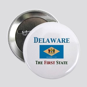 """Delaware 1st State 2.25"""" Button (10 pack)"""