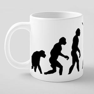 Basenji11 20 oz Ceramic Mega Mug