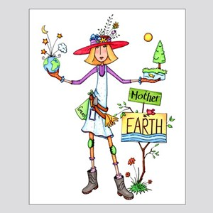 Mother Earth Small Poster