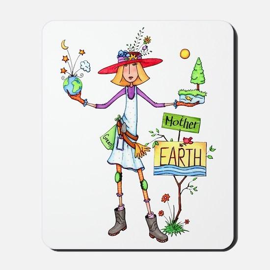 Mother Earth Mousepad