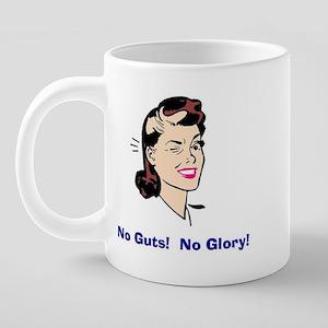 NoGuts5CoffeeMug 20 oz Ceramic Mega Mug
