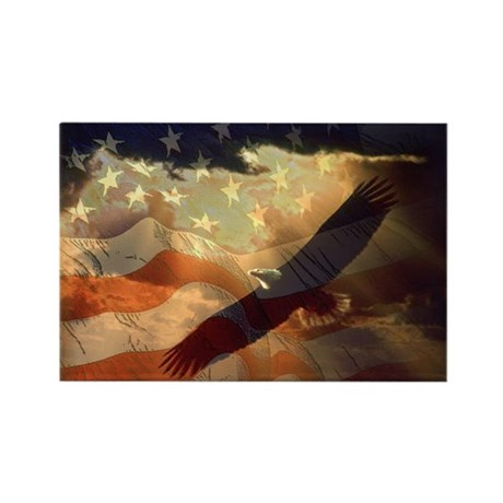 The American Print Rectangle Magnet (10 pack)