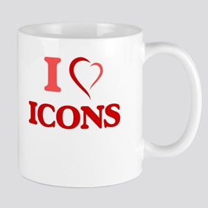 I love Icons Mugs