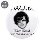 "What Would Jeannie Bladdersha 3.5"" Button (10 pack"