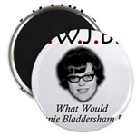 "What Would Jeannie Bladdersha 2.25"" Magnet (100 pa"