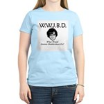 What Would Jeannie Bladdersha Women's Light T-Shir