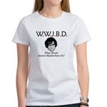 What Would Jeannie Bladdersha Women's T-Shirt
