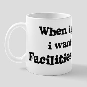 Be A Facilities Manager Mug