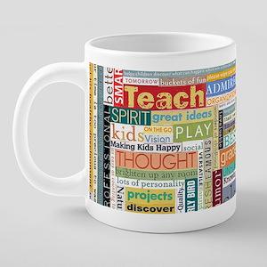 Teacher Mug 20 oz Ceramic Mega Mug