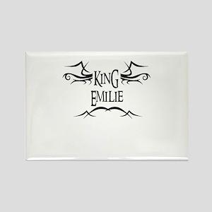 King Emilie Rectangle Magnet