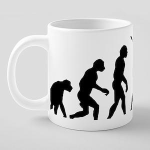 Jack Russell Terrier11 20 oz Ceramic Mega Mug