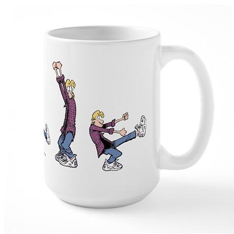 Dancing Jeremy Large Mug