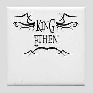King Ethen Tile Coaster