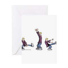 Dancing Jeremy Greeting Card