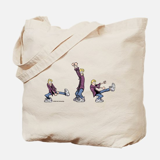 Dancing Jeremy Tote Bag