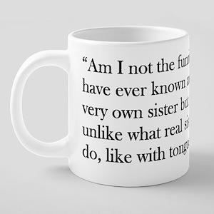 MarthaQuote 20 oz Ceramic Mega Mug