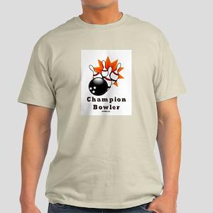 Champion Bowler Dad Light T-Shirt
