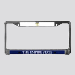 Fish Fear Me License Plate Frame