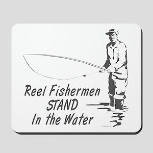 Reel Fishermen Mousepad