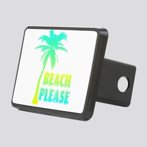 palm tree beach please Rectangular Hitch Cover