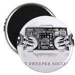 Street Sweeper Social Club Magnet