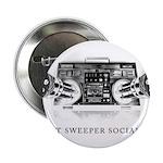 "Street Sweeper Social Club 2.25"" Button"