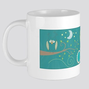 Night Owls 20 oz Ceramic Mega Mug